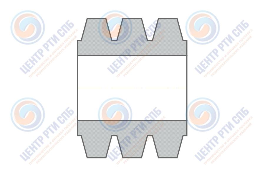 Втулка МУВП К1 (10 x 19 x 15) ГОСТ 21424-75
