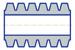 Втулка МУВП (24x38x65) ГОСТ 21424-755, ТУ 2500-37600152106-94